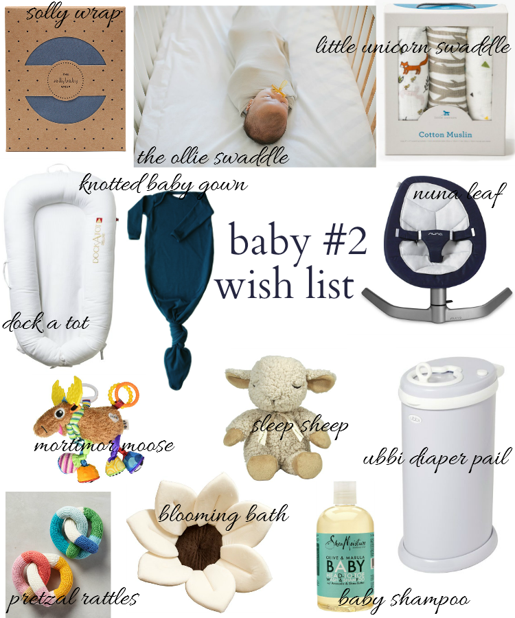baby registry, baby must haves and wish list