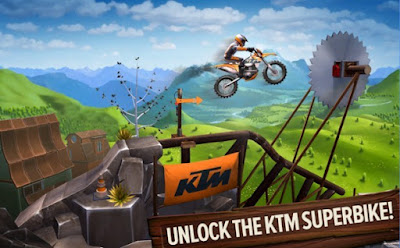 Trials Frontier MOD APK Terbaru v4.5.1 + Data Cheat (Unlimited Coin and Gems)