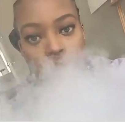 Photos & video of Cameroon's First Daughter Brenda Biya smoking sparks outrage - Nigerian ...