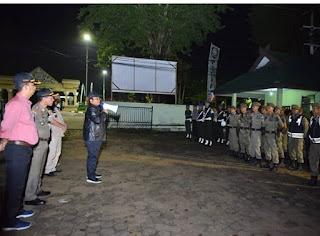 Wawako Jambi Pimpin Operasi Yustisia Sambut Bulan Suci Ramadhan 1440 H.