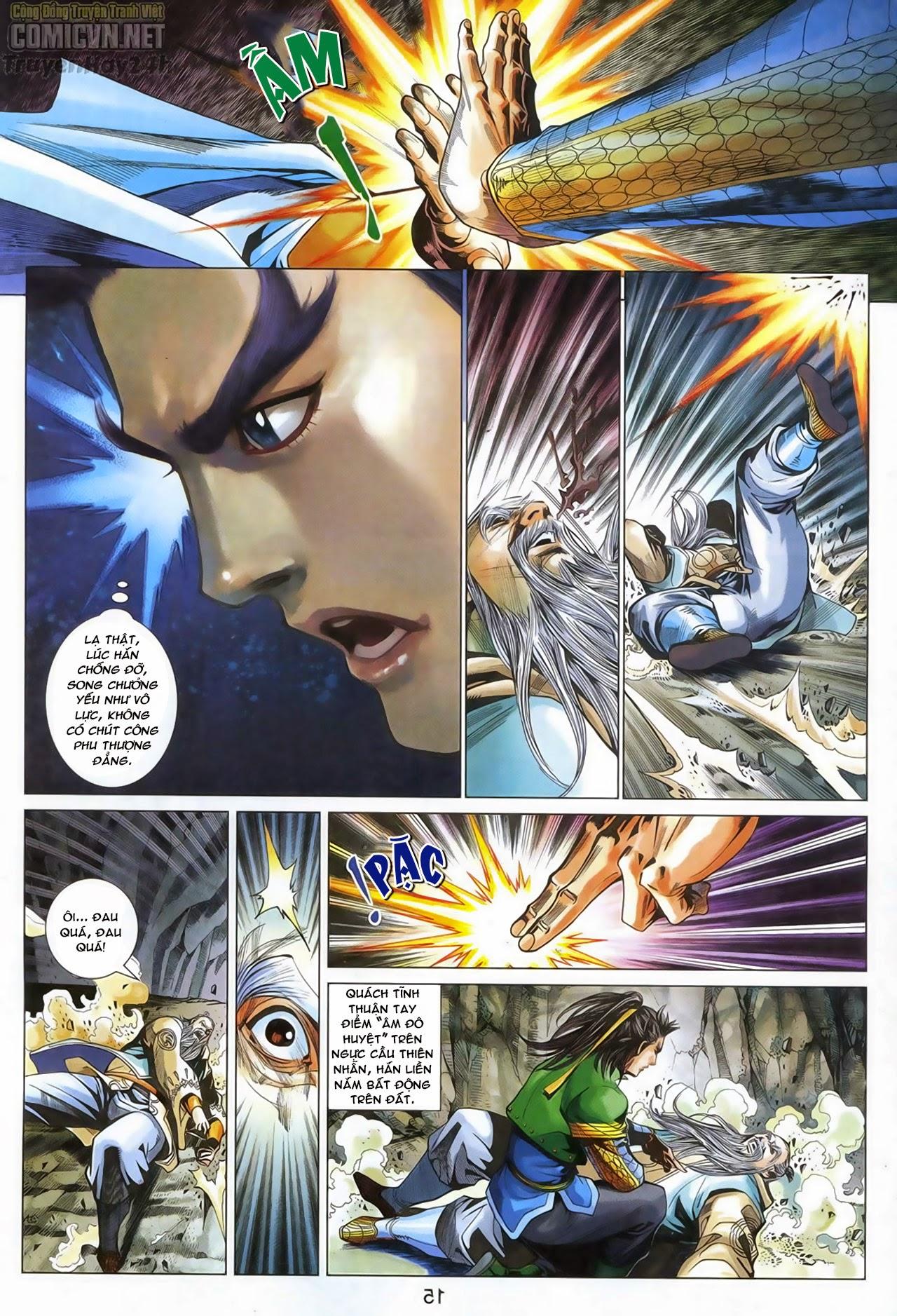 Anh Hùng Xạ Điêu anh hùng xạ đêu chap 69: hồn đoạn thiết chưởng phong trang 16