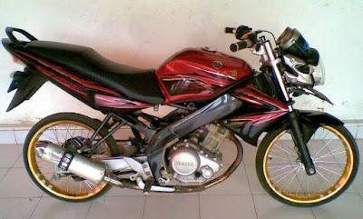 modifikasi motor vixion 2012  tahun ini