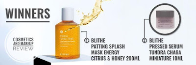 [JOLSE] BLITHE Patting Splash Mask Energy Citrus & Honey 200ml, BLITHE Pressed Serum Tundra Chaga 10ml