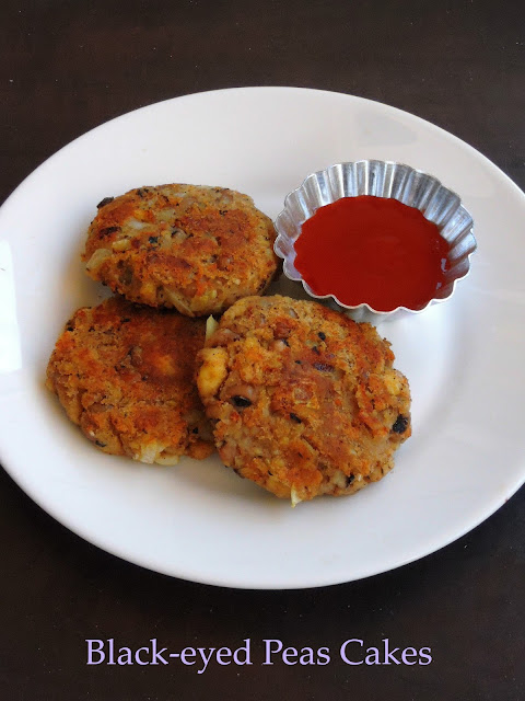 Black-eyes peas cakes, Cowpeas cake