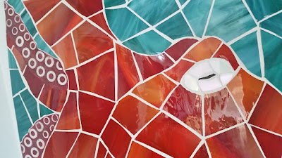 octopus mosaic art