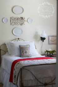 Colonial Farmhouse Style Guest Room