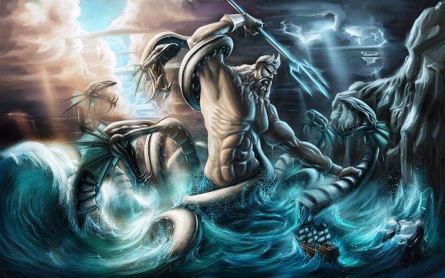 Dewa Yunani Poseidon