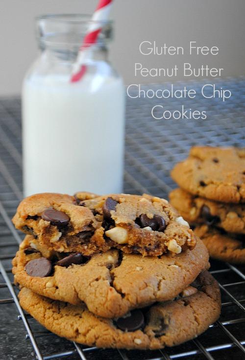 Zaika Pakwan: Gluten Free Peanut-Butter Chocolate Chip Cookies