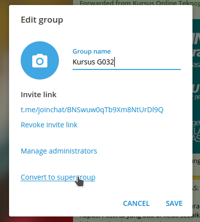 How To Delete Telegram Groups Permanently