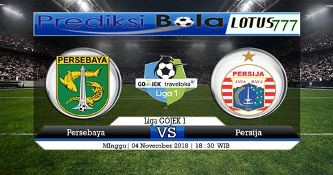PREDIKSI Persebaya vs Persija 04 NOVEMBER 2018