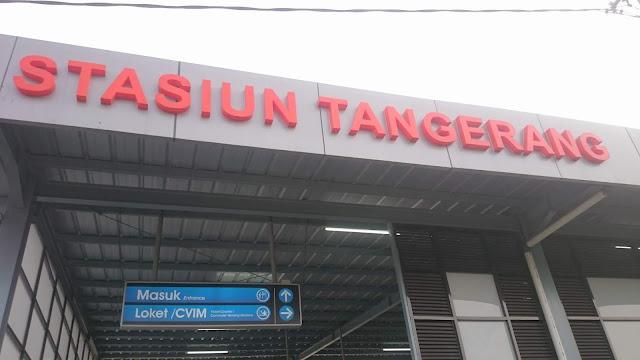 Tangerang Rail Station - Image: Author