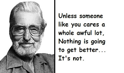 """Dr. Seuss Quotes About Activism"""