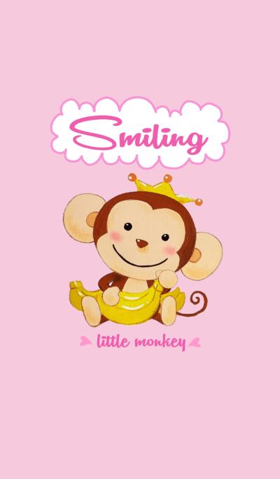 Smiling little monkey