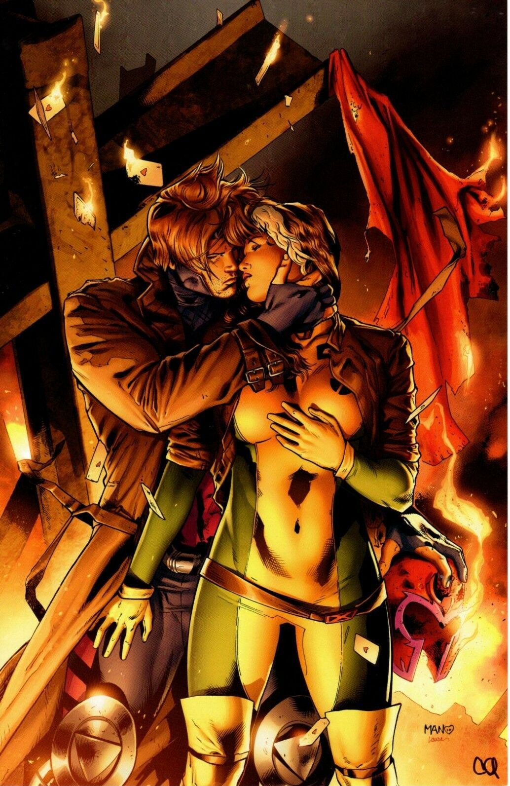 Gambit and Rouge