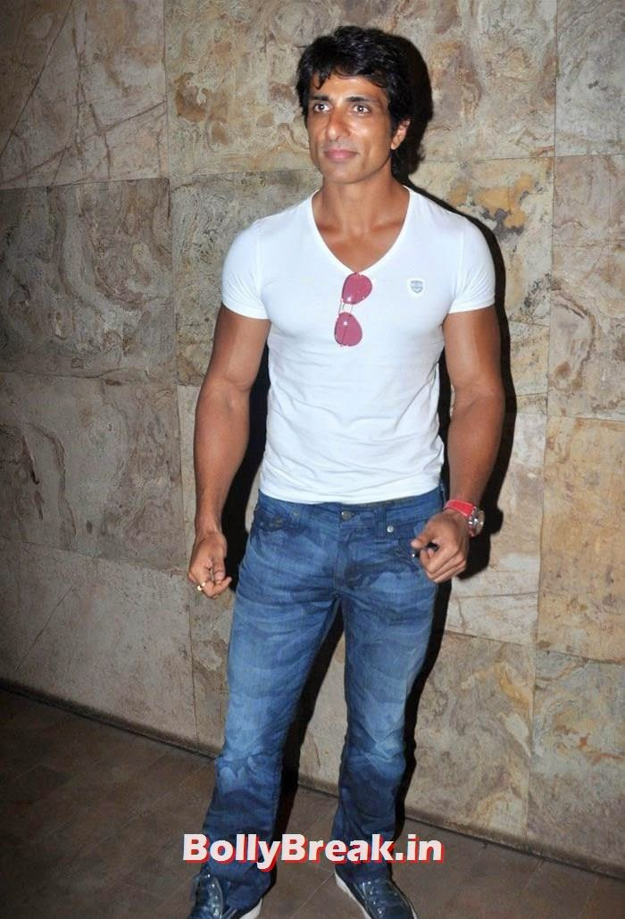 Sonu Sood, 'Humshakals' Movie Special Screening Pics