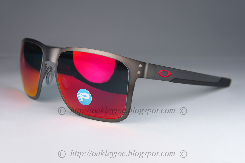 b961434c55 OO4123-0655 Holbrook Metal matte gunmetal + prizm black iridium polarized   315 xmas sale  285!!! lens pre coated with Oakley hydrophobic nano solution