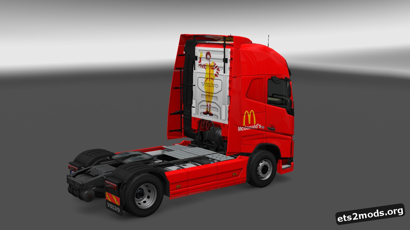 Mc Donalds Skin for Volvo FH 2012