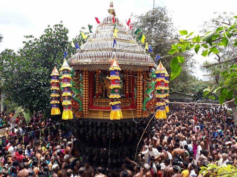 மானிப்பாய் மருதடியானின் தேர்த் திருவிழா!