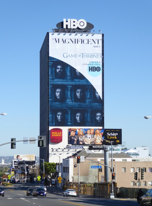 Giant Game of Thrones Magnificent consideration billboard