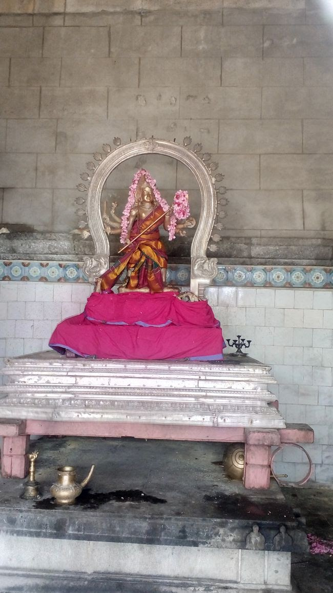 Procession Idol Of Lord Agora Murthy