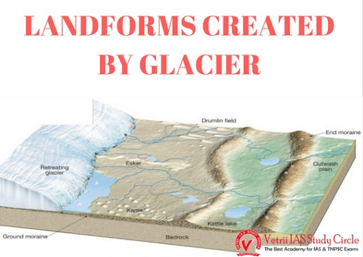 LANDFORMS CREATED BY GLACIER - UPSC - TNPSC General Knowledge