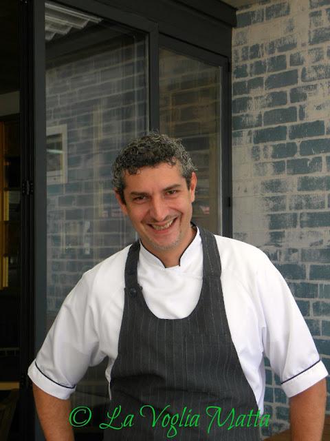 Gonzalo Xavier Goyeneche chef del ristorante Montagu
