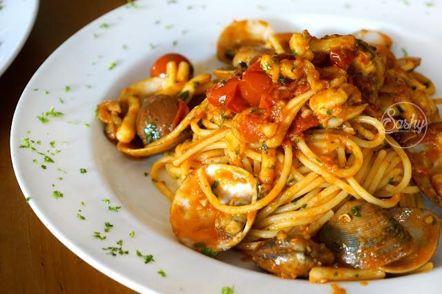 Massimo Bali - spaghetti allo scoglio
