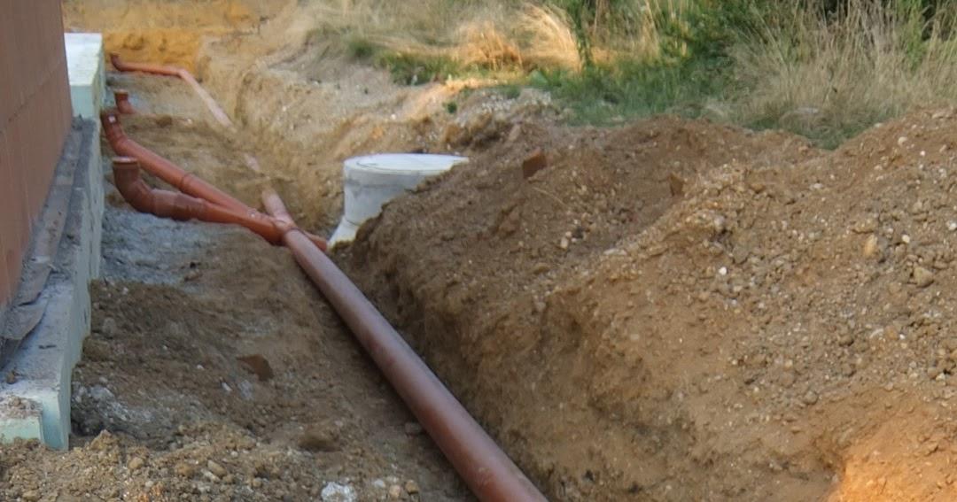 Sehr AuA's Baublog: Regenwasserrohre verlegt IC16