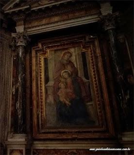 sao pedro montorio antoniazzo romano virgem - São Pedro em Montorio