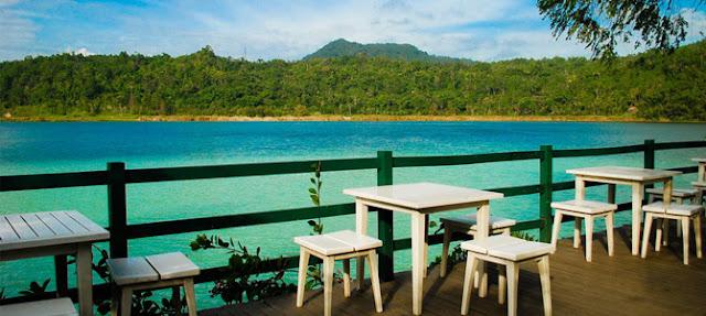 wisata danau linow sulawesi utara