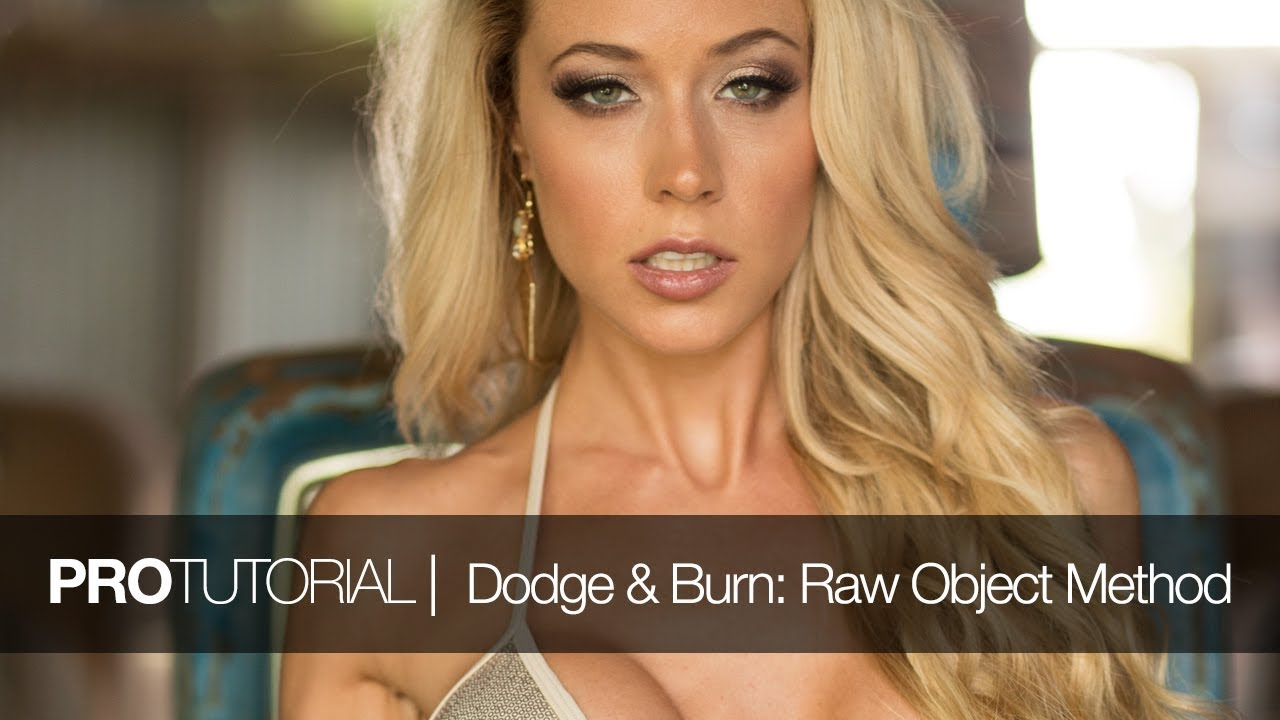 Photoshop Raw Smart Objects for Dodge & Burn Skin Retouching by Nino Batista