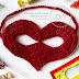Masque ♥ au crochet