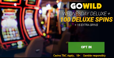 Go Wild caasino Wednesday Deluxe Spins