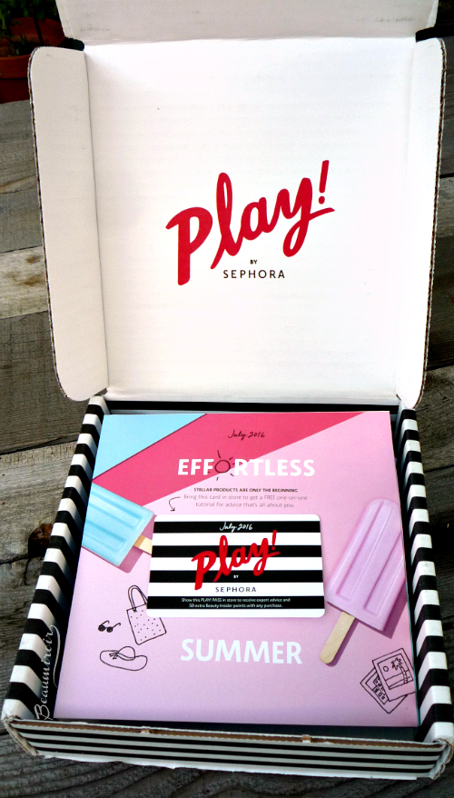 Let's unbox the Sephora Play! July 2016 beauty subscription box!