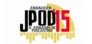 Logo de las Jpod15 de Zaragoza