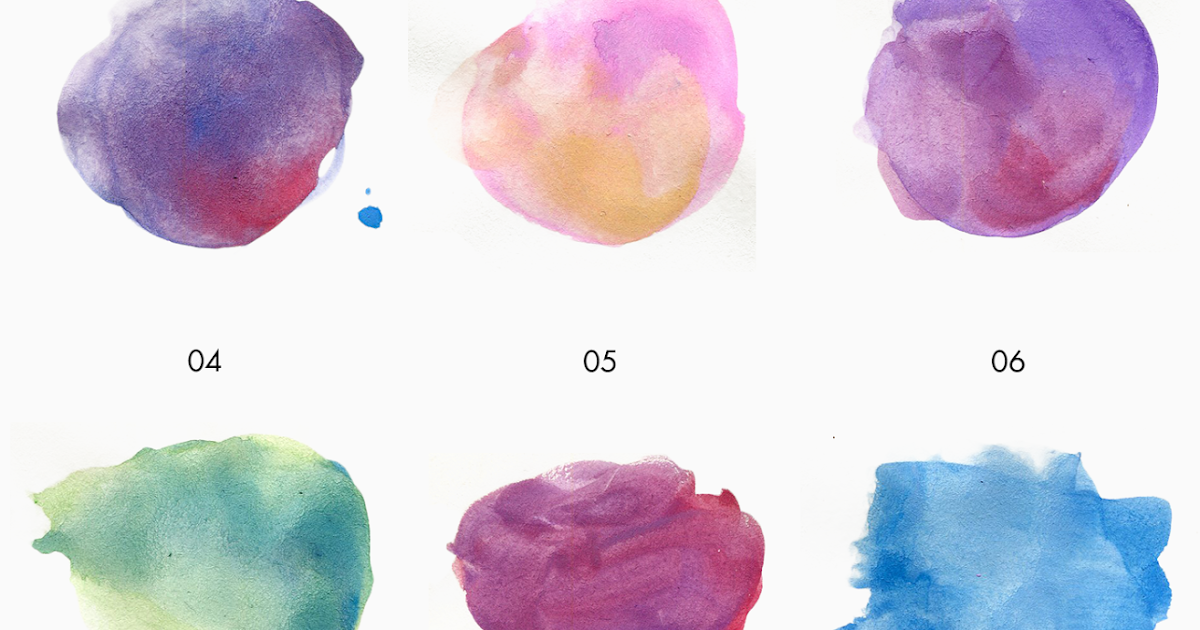 FREEBIE Free Watercolor Texture Kit Hand Painted