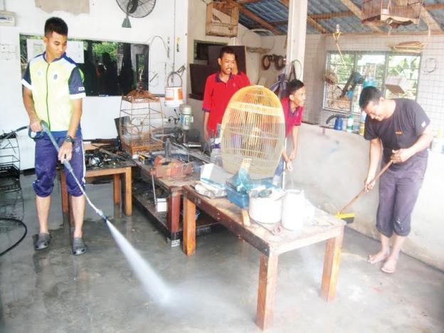 Dakwa Parit Pecah Punca Banjir Di Pekan Bukit Pinang