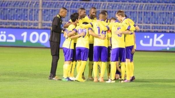 مقابلة فريق النصر امام فريق الفيحاء ضمن الدوري السعودي
