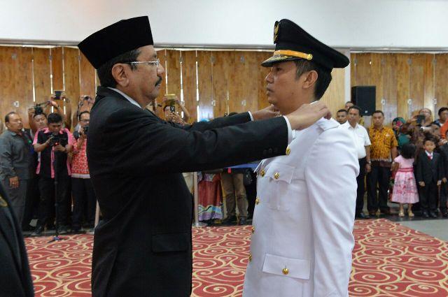 Pelantikan walikota Pematangsiantar