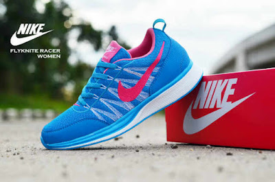 Sepatu Nike Free Flyknit Women Turkis List Red