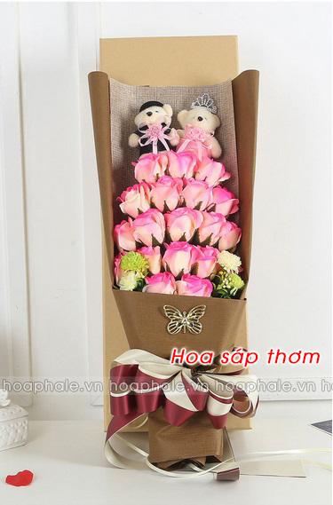 Hoa hong sap thom vinh cuu o Ngoc Khanh