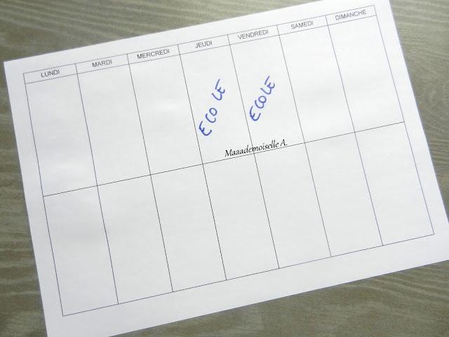 || DIY : Tableau pour compter les jours avant la rentrée (+ fichier à télécharger)