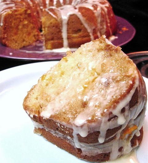 Mandarin Orange Bundt Cake