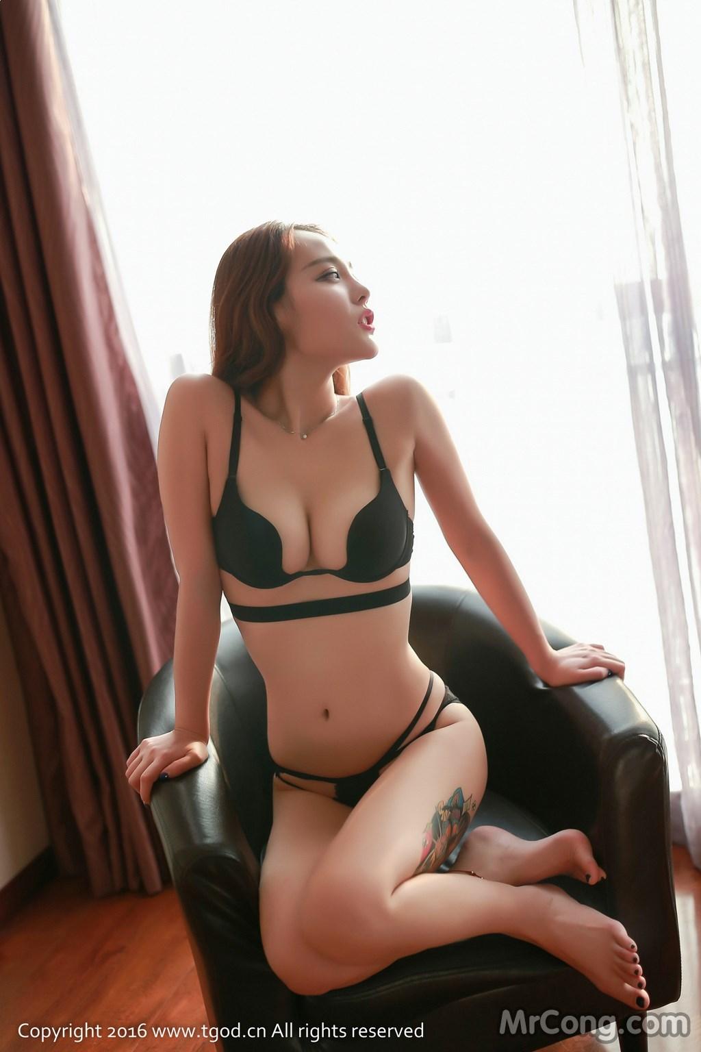 Image MrCong.com-TGOD-2016-07-22-Zhan-Ni-Hua-011 in post TGOD 2016-07-22: Người mẫu Zhan Ni Hua (珍妮花) (40 ảnh)