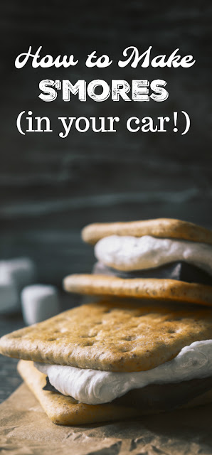 Did you know that you can make s'mores in your car? Learn this simple hack to create gooey treats in minutes -- with no flame!