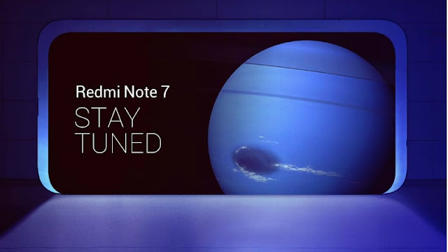 Redmi Note 7's Global Variant Teaser has been launched soon