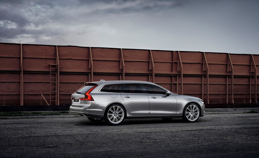 Đánh giá xe Volvo V90 2018