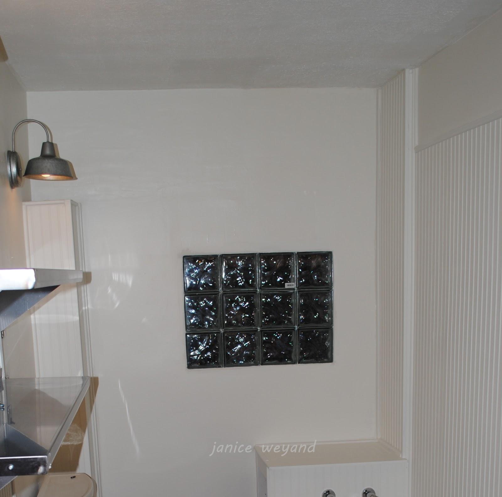 Window Glass: Glass Block Window Fan