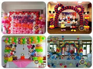 Jasa Dekorasi Balon Ulang Tahun Id Balon Bekasi