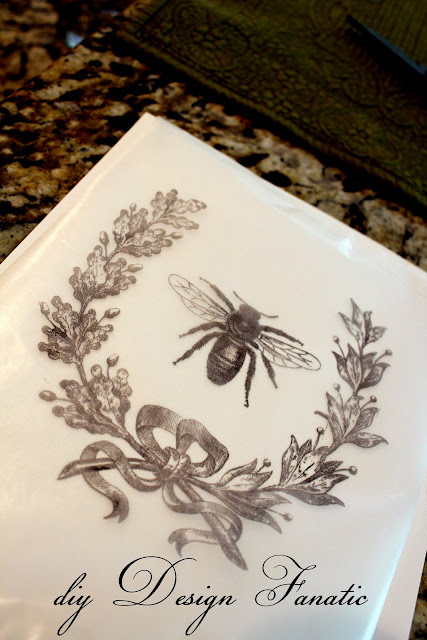 wax paper transfer, easy craft, diyDesignFanatic.com